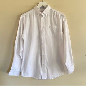 IZOD Boys White Long Sleeve Button Down 18